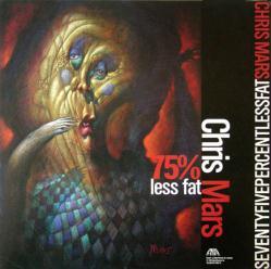Chris Mars poster: 75% Less Fat vintage LP/Album flat (1993)