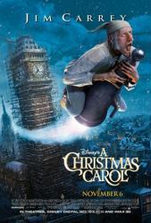A Christmas Carol movie poster (2009) a Robert Zemeckis film