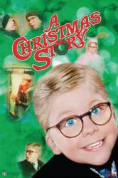 A Christmas Story movie poster (1983) [Peter Billingsley] 27'' X 39''
