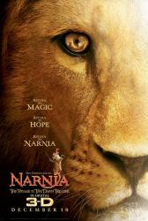 Chronicles of Narnia: Voyage of the Dawn Treader in 3-D movie poster