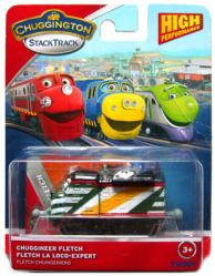 Chuggington StackTrack: Chuggineer Fletch die-cast vehicle (Tomy)