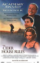 The Cider House Rules poster [Michael Caine/Tobey Maguire/Theron]