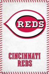 Cincinnati Reds poster: Logo (MLB) 22x34