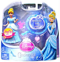Cinderella MagiClip figure with Bracelet (Mattel/2011) Disney Princess