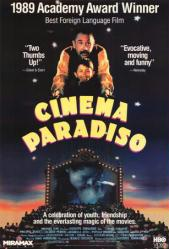 Cinema Paradiso movie poster [a Giuseppe Tornatore film] 26x40