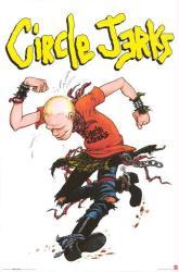 Circle Jerks poster (24x36) Punk Rock band