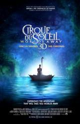 Cirque du Soleil: Worlds Away movie poster (2012) original 27 X 40