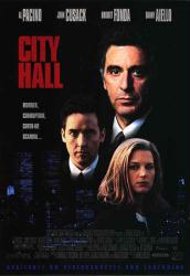 City Hall movie poster [Al Pacino, John Cusack & Bridget Fonda] video