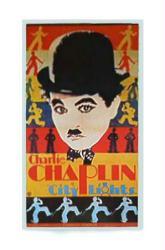 City Lights movie poster [Charlie Chaplin] 1931