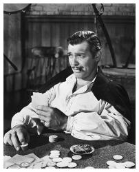 Clark Gable print: Gone With the Wind (26x32) Fine Art Reproduction