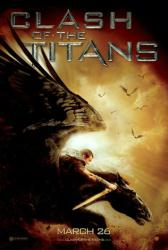 Clash of the Titans movie poster [Sam Worthington] (2010) Advance