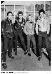 The Clash poster: Chalk Farm, London, March 1977 (23 1/2'' X 33'')