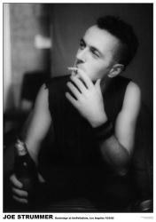 The Clash poster: Joe Strummer Backstage at the Palladium (23.5 X 33)