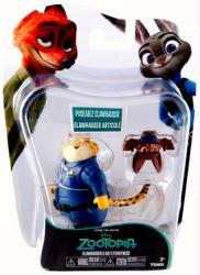 Zootopia: Clawhauser & Bat Eyewitness figures (Tomy) Disney