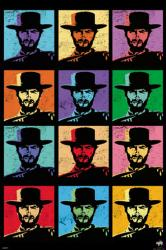 Clint Eastwood poster: Pop Art (24x36)