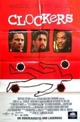 Clockers movie poster [Harvey Keitel, Delroy Lindo] Spike Lee (Folded)