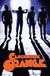 A Clockwork Orange movie poster (1971) [Stanley Kubrick] 24'' X 36''