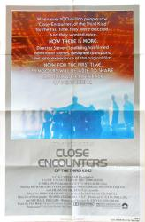 Close Encounters of the Third Kind movie poster [Spielberg] 27x41