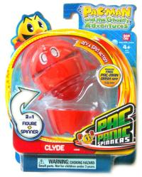 Pac-Man and the Ghostly Adventures: Clyde Pac Panic Spinner figure