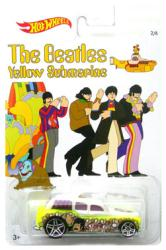 Hot Wheels: Beatles Yellow Submarine Cockney Cab II die-cast (Lennon)