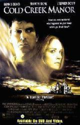 Cold Creek Manor movie poster [Dennis Quaid, Sharon Stone] 26x40