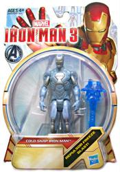 Iron Man 3: Cold Snap Iron Man action figure (Hasbro/2012)
