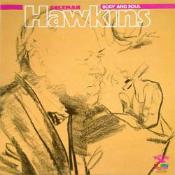 Coleman Hawkins poster: Body and Soul vintage LP/Album flat