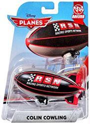 Planes: Colin Cowling 1:55 die-cast plane (Mattel/2015) Disney
