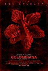 Colombiana movie poster [Zoe Saldana] original 27'' X 40'' one-sheet