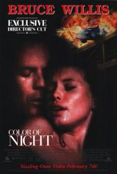 Color of Night movie poster [Bruce Willis, Jane March] 26x40 video