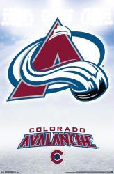 Colorado Avalanche poster: Logo (NHL) 22x34