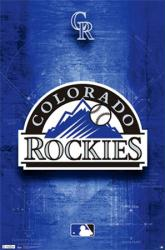 Colorado Rockies logo poster (MLB) 22 1/2'' X 34''
