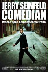 Comedian movie poster [Jerry Seinfeld] original 27x40