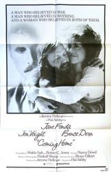 Coming Home movie poster [Jane Fonda, Jon Voight, Bruce Dern] 27x41