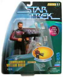 Star Trek Warp Factor Series 1: Commander William Riker action figure