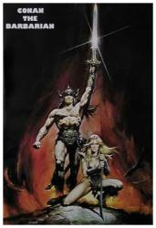 Conan the Barbarian movie poster [Arnold Schwarzenegger] 27.5'' X 40''