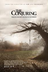 The Conjuring movie poster [2013] original 27'' X 40'' one-sheet