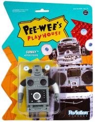 Pee-Wee's Playhouse: Conky ReAction action figure (Super7) Robot