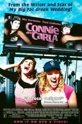 Connie and Carla movie poster [Nia Vardalos, Toni Collette] 27x40