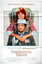 Continental Divide movie poster [John Belushi] 1981 original 27x41