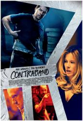 Contraband movie poster [Mark Wahlberg, Kate Beckinsale, Ben Foster]