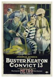Convict 13 movie poster [Buster Keaton] 18x24