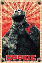 Sesame Street poster: Cookie Monster (Me Love Cookie) 24'' X 36''