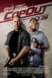 Cop Out movie poster [Bruce Willis & Tracy Morgan] a Kevin Smith film