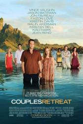 Couples Retreat movie poster /Vince Vaughn/Malin Akerman/Jason Bateman