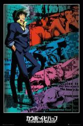 Cowboy Bebop poster (24x36) Spike Spiegel [anime series]