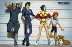 Cowboy Bebop poster (36x24) Line-Up [anime series]