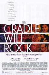 Cradle Will Rock movie poster [Susan Sarandon, John Cusack, Azaria]