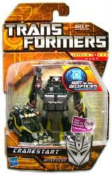 Transformers Hunt for the Decepticons: Crankstart figure (Hasbro/2009)