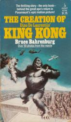 The Creation of Dino De Laurentiis' King Kong paperback book/1976
